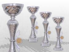 3er Pokalserie Pokale Skylon mit Gravur und Emblem günstig kaufen Pokale silber