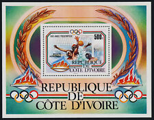 Ivory Coast C80 MNH Olympic Sports, Water Polo