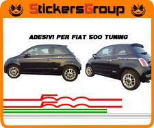 ADESIVI STRISCE ITALIA PER NUOVA FIAT 500 TUNING