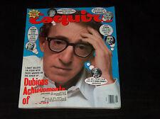 Esquire Magazine January 1993 Woody Allen Madonna Fergie Sharon Stone
