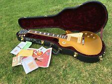 2003 Gibson Les Paul Custom Shop Historic 54 1954 ReIssue Brazilian Goldtop