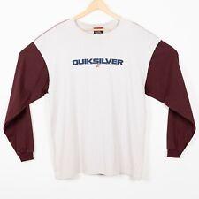 Quicksilver Mens Size L Long Sleeve T Shirt Crewneck Club Mesa NWT