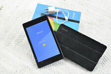 Nexus 7 2nd Generation 16GB 7in Blk Tablet. bundle w/Box, Poetic Case, charger