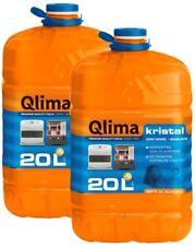 Qlima Kristal  20 L Carburante Inodore per Stufe - Arancione