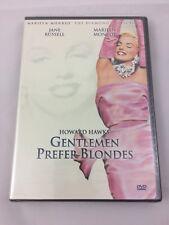 Gentlemen Prefer Blondes (DVD, 2001, Marilyn Monroe Diamond Collection) New
