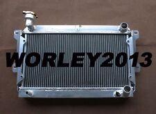 2 core aluminum radiator for Mazda R100 / Familia Rotary 1000 1200 1300 10A /12A