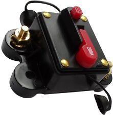 200A 12V 24V 32V 48V fusible automatique disjoncteur 78x52x37mm IP67 ampli auto
