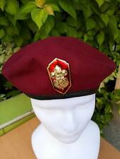 BOY SCOUT thai BERET HAT Badge cub RED BSA TROOP Uniform Brigade leader OFFICIAL