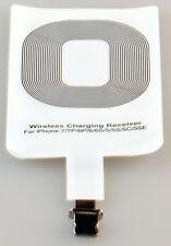Qi Wireless Charger Kabellos Ladegerät Receiver Empfänger iPhone 5 6 7 Neu