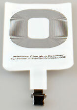 Qi Wireless Charger Kabellos Ladegerät Receiver Empfänger iPhone 5 6 7