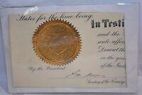 Andrew W. Mellon Autograph Secretary of Treasury Cutout Authentic Guaranteed1927