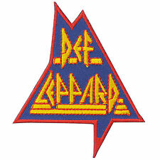 Def Leppard Classic Rock Music Sew Embroidered Iron-On Patches Jacket Cap #S100