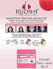 Kyona Face Lift Tapes | Kit A (Light Hair) - 62 Face Lift + 62 Neck Lift Tapes