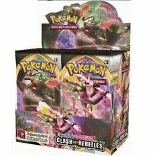 Display Pokémon 36 boosters épée et bouclier Clash des Rebelles FR  envoyé 24h