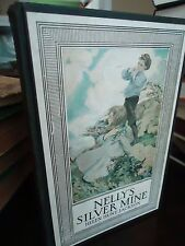 Nelly's Silver Mine - A Story of Colorado -Helen H. Jackson -4 Color Plates.1924