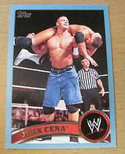2011 TOPPS WWE BLUE JOHN CENA #/2011 WRESTLEMANIA XXVIII WWF RISE ABOVE HATE