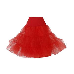 Hip Hop 50s Shop Womens Vintage Style Crinoline Petticoat Slip