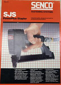 Staple Gun Senco SJS 320025N A03 To A05 Staple