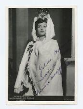 Maria CALLAS (Opera): Signed Photograph in Fedora at La Scala