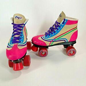 Stunning Retro Roller Boots Skates Unisex - UK Adult Size 7 - Very Eye Catching