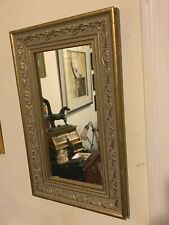 Ornate  Gold Gilt Cartouches Wall Mirror