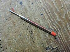 Vintage Red Fine (F) PARKER JOTTER BALLPOINT PEN Ink Cartridge REFILL USA old