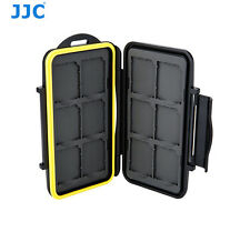 JJC MC-SD12 Tough Water-Resistant Memory Card Case for 12 x SD cards