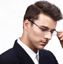 Titanium Flexible Eyeglass Frame Rimless men women Glasses Spectacles Rx able