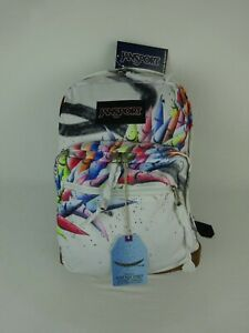 Jansport Yoshi 47 Street Artist Designed Backpack ~ Right Pack Street Yoshi47 ~
