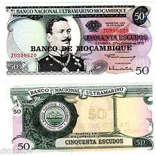 Mozambique ULTRAMARINO PORTUGAL Billet 50 ESCUDOS 1970 Z REPLACEMENT NEUF UNC