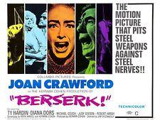 "Berserk 16"" x 12"" Reproduction Film Poster Photograph"