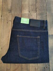 💯 Genuine Hugo Boss C-delaware1 Slim Fit Stretch Dark Denim Jeans Bnwt W38 L34