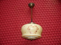 Rarität Original Art Deco Lampe Deckenlampe ca. 1930