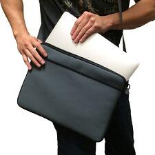 """Grey 13"""" 13.3"""" Messenger Shoulder Case Bag for Apple Macbook Pro & Macbook Air"""
