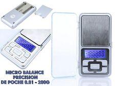 Micro Balance digitale Précision electronique de poche 0.01g - 200g Scale