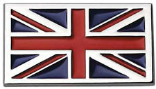 High Quality Self Adhesive Exterior & Interior Chrome Union Jack Badge Emblem