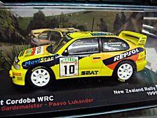 SEAT Cordoba WRC Rallye NW Neuseeland 1999 #10 Gardemeister Altaya IXO 1:43