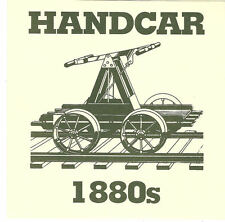 #1898 First Day Ceremony Program 3c Hand Car Coil