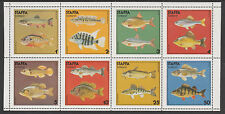 GB Locals - Staffa 3530 - 1978 FISH perf sheet of 8 unmounted mint
