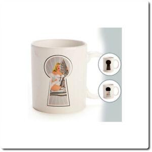 Peep Show Revealing Coffee Mug