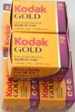 Lot 6 pellicules photo 200 36 poses couleur Kodak 24x36 non périmé neuf :2022 !