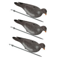 3//6//12pcs Pacific Golden Plover Fake Pluvialis Fulva Hunting Shorebird Decoys