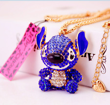 Hot Charm Betsey Johnson Pendant Jewelry Women Cartoon Chain Rhinestone Necklace