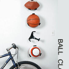 1x Ball Holder Claw Wall Rack Display for Rugby Soccer Football Basketball new