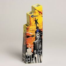 "Selwyn SENATORI - Senatori Town Collection - "" Skyline 5th "" - POP ART VASE"