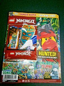LEGO Ninjago Magazine Issue 76 With Mini-Figure Thunder Keeper+ Lightning Staff