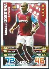 TOPPS MATCH ATTAX 2015-16- #349-WEST HAM UNITED-ANGELO OGBONNA