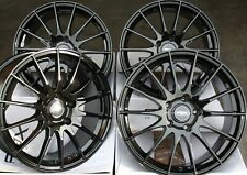 "19"" BLACK FX004 ALLOY WHEELS FOR LAND ROVER RANGER ROVER EVOQUE VELAR 5X108"