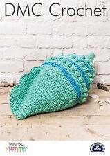 "DMC Crochet Pattern ""SHELL"" Cuscino"
