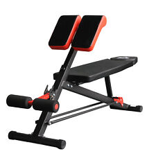 Upgraded Multi-Functional Hyper Extension Bench Dumbbell Bench Adjustable Roman